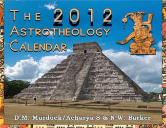 The 2012 Astrotheology Calendar front cover