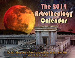The 2014 Astrotheology Calendar front cover