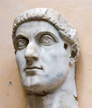 Constantine the Great; bust from Capitoline Museum; photo: Jean-Christophe BENOIST