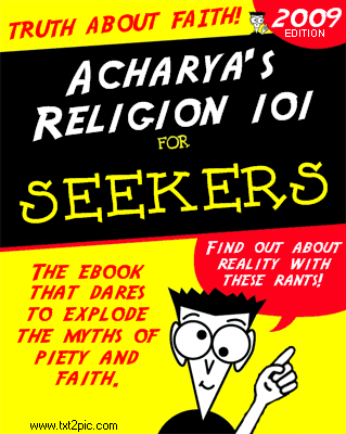 Acharya's Religion 101 ebook cover