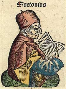 Suetonius, from the Nuremberg Chronicle