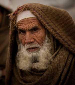 Old Pakistani man