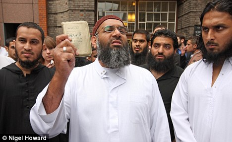 anjem choudary islam great britain nigel howard