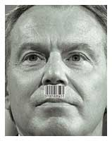 tony blair hitler