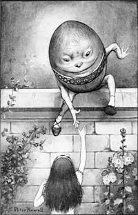 humpty dumpty sat on a wall image gospel