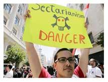 lebanese secularism demonstration