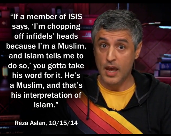Reza Aslan on ISIS, ISIL, Islamic State