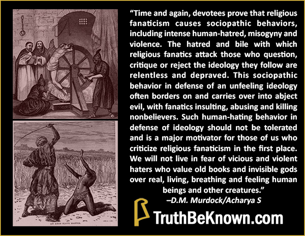 Religious sociopathy - click to enlarge