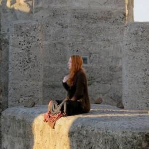 Pagans celebrate solstice at Stonehenge replica