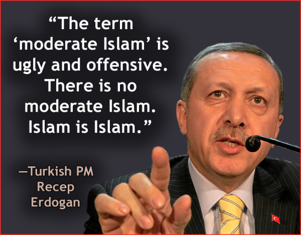 "Erdogan on ""moderate"" Islam"