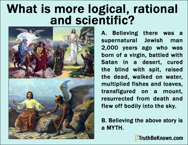 Is the gospel story logical, rational and scientific?
