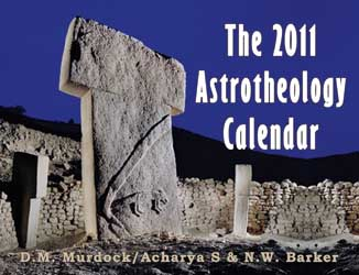 The 2011 Astrotheology Calendar cover link