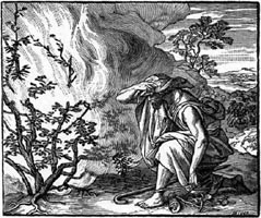 Moses Burning Bush Solar Fire Yahweh