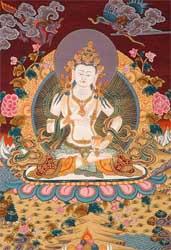 Adi Buddha Vajrasattva, www.exoticindiaart.com/product/TN99/