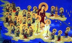 buddha in heaven