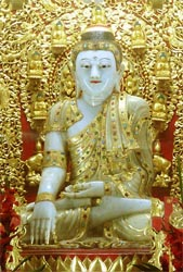 Buddha with white features