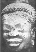 buddha wooly hair thick lips