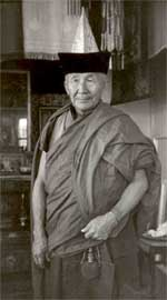 'Munko, a senior lama and doctor of Tibetan medicine from Buryat Ivolga monastery'