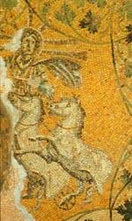 Jesus Christ sun god Helio Apollo chariot horses cristo sole sol invictus image