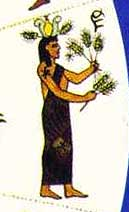 Egyptian Virgo, from Oedipus Judaicus by Drummond