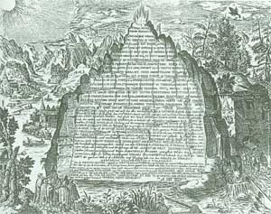 Emerald Tablet of Hermes Trismegistus, 'considered the single most fundamental writing about alchemy and the occult.'