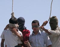 Gay teenage Iranian boys hanging image