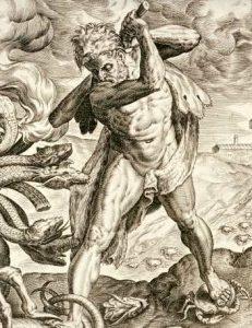 Hercules sun god hydra image