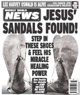 Jesus's Sandals Found!