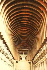 Buddhist Temple, Karla Caves, India (Photo: Mouleesha)