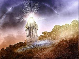 Moses's face shined like the sun, after he came down from his meeting with Yahweh on Mt. Sinai