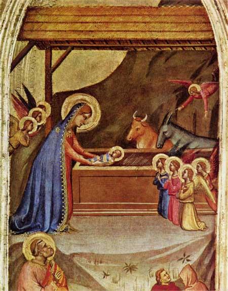 Christ's Nativity; Bernardo Dadi, c. 1325-1350; National Gallery of Scotland, Edinburgh