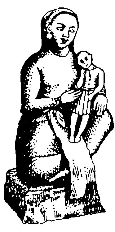 Ancient Babylonian Mother and Child