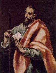 'St. Paul' by El Greco, Museo del Greco, Toledo, Spain