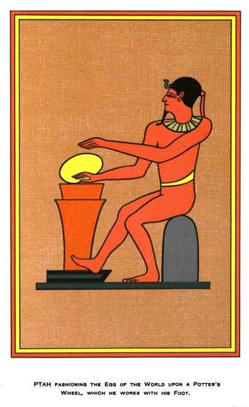 Ptah Great Architect Artificer Master Craftsman Creator