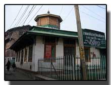 Rozabal tomb Kashmir