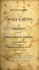Volney's Ruins of Empires, 1811