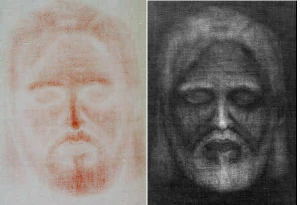 Reproduction of Shroud of Turin by Emily A. Craig and Randall R. Bresee