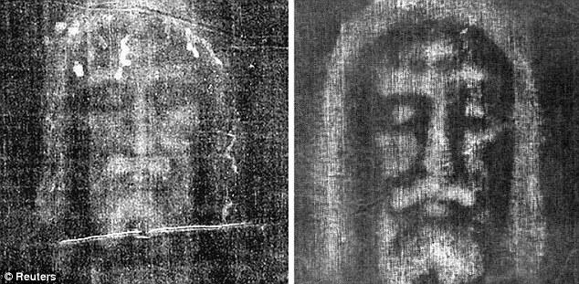 Shroud of Turin reproduced by Italian chemist Luigi Garlaschelli
