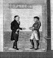 Christopher Martin Wieland and Napoleon Bonaparte