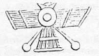 Winged disc representing the sun and